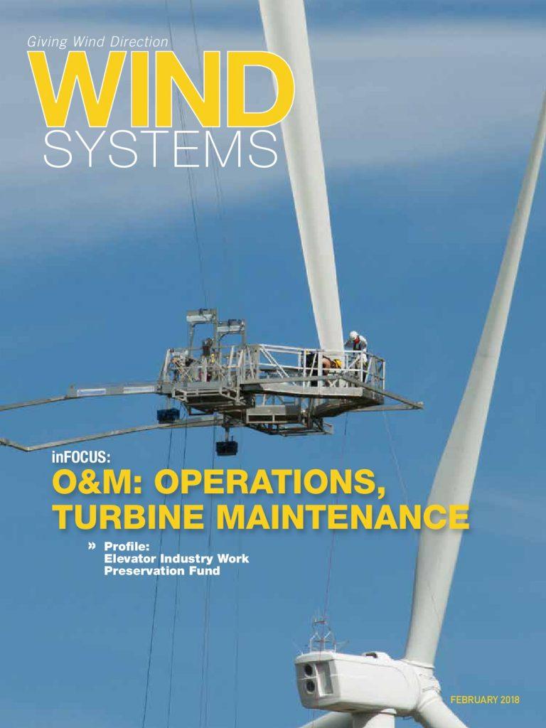 Ми в пресі: стаття про установку СММ G в журналі «Wind Systems»