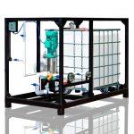 UVB-1 erweiterte Anlage mit 1m³/h Produktionskapazität