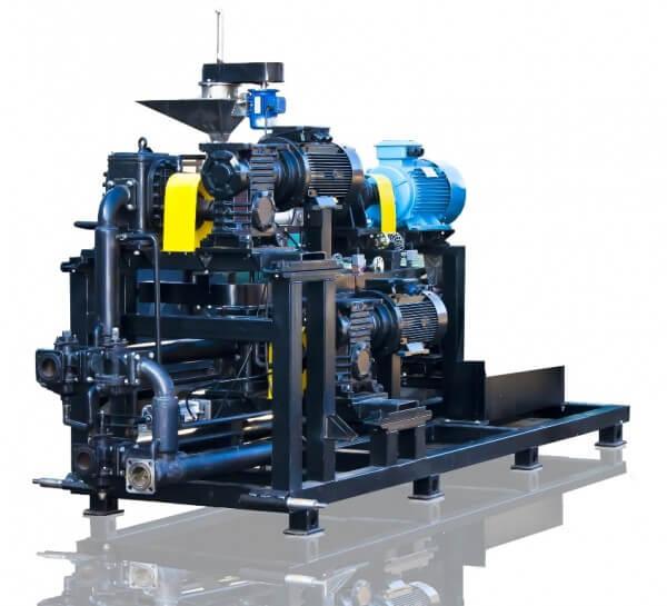 Ausrüstung für die Herstellung von modifizierten Bitumen