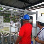 Запуск установки для одержання сумішевих палив в Еквадорі