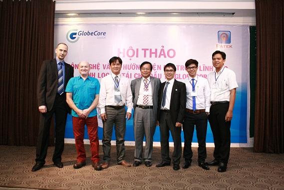 Die GlobeCore GmbH trat als Mitveranstalter der Konferenz in Vietnam auf