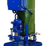 Inline Ölheizung PPM. Ölerhitzung mittels Strom