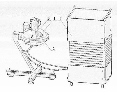 Elektromagnetische Mühle AVS 150